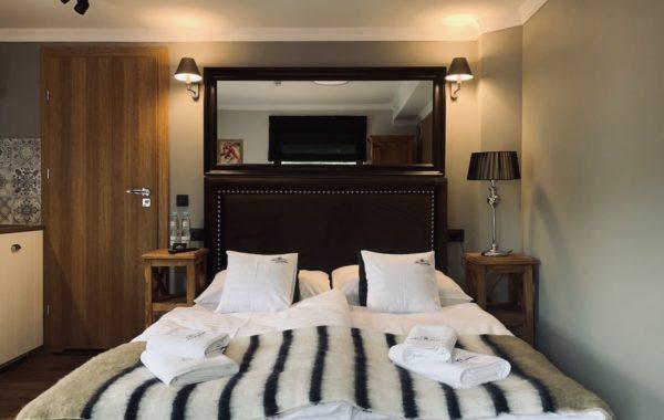 Pokój 2-1 pokój 2-osobowy z balkonem, 19.5m²